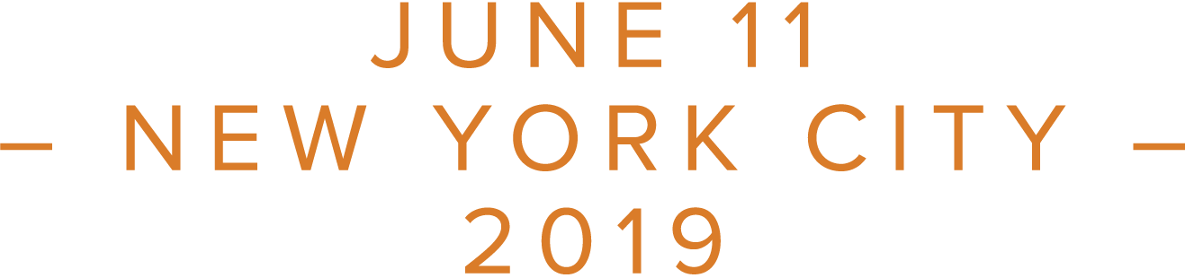 JUNE 11 – NEW YORK CITY – 2019
